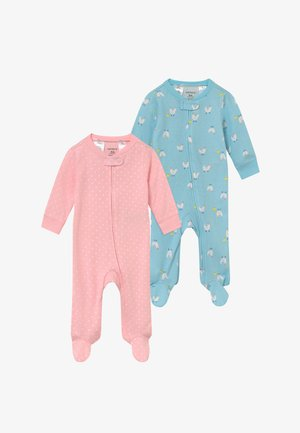 2 PACK - Pyžamo - light blue/light pink