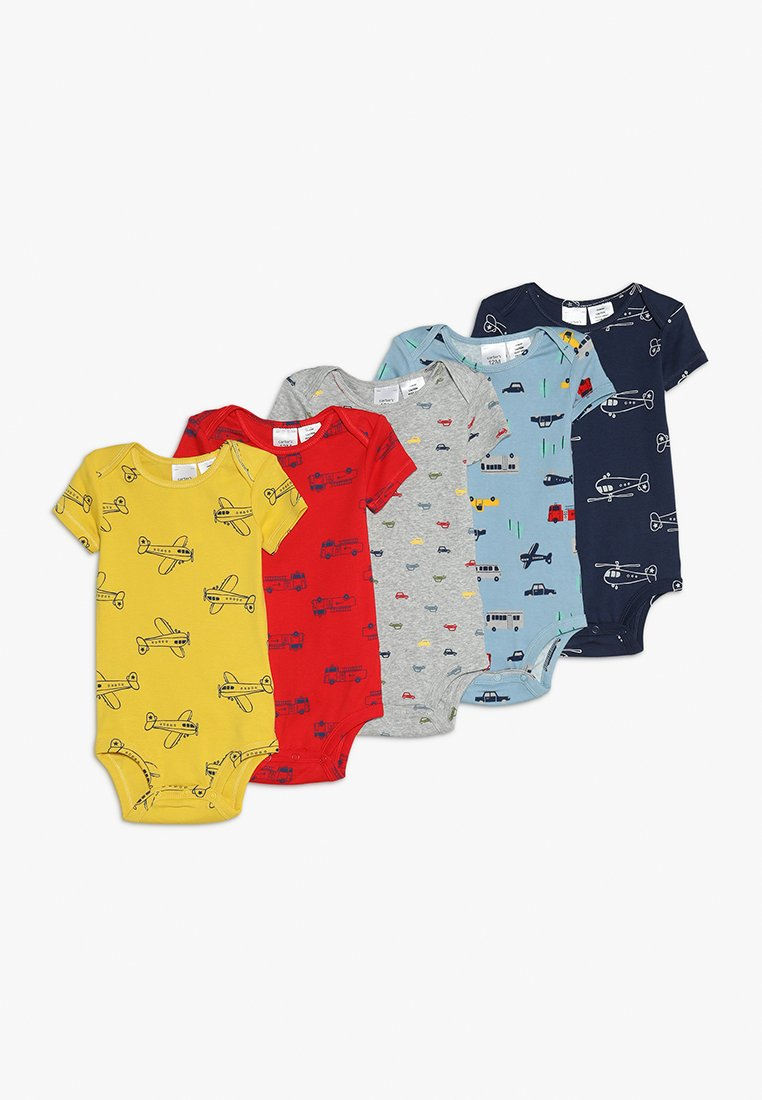 Carter's - BABY BOY TRANSPORTATION 5 PACK - Body - multi-coloured