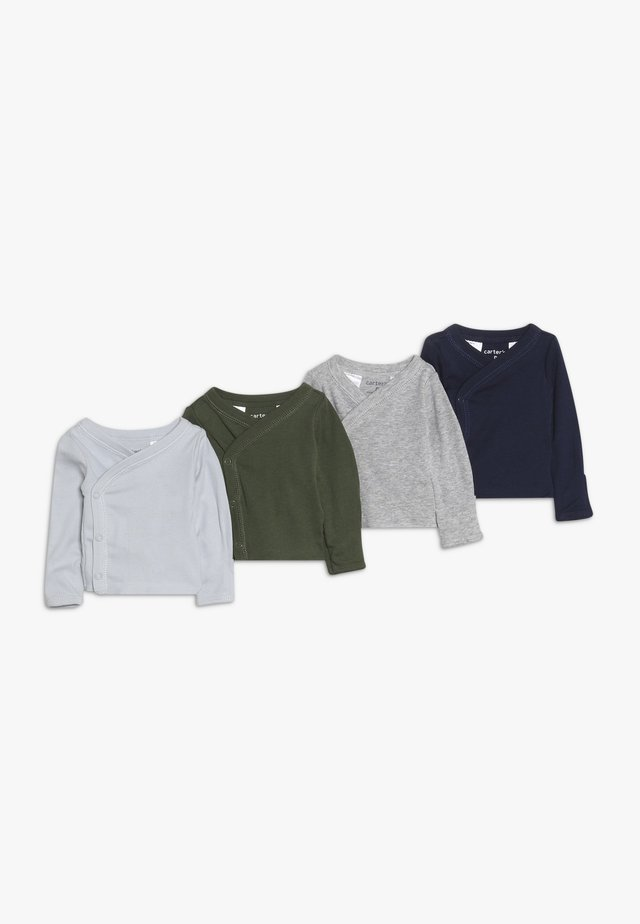 BOY SIDESNAP TEE BABY 4 PACK - Hemd - multicolor