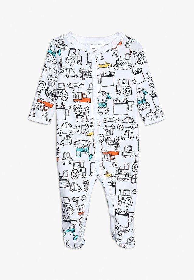 BABY INTERLOCK TRUCKS - Pyjamas - white