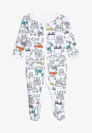BABY INTERLOCK TRUCKS - Pyjama - white