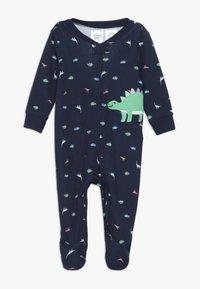 Carter's - BOY INTERLOCK BABY - Pijama - dark blue - 0
