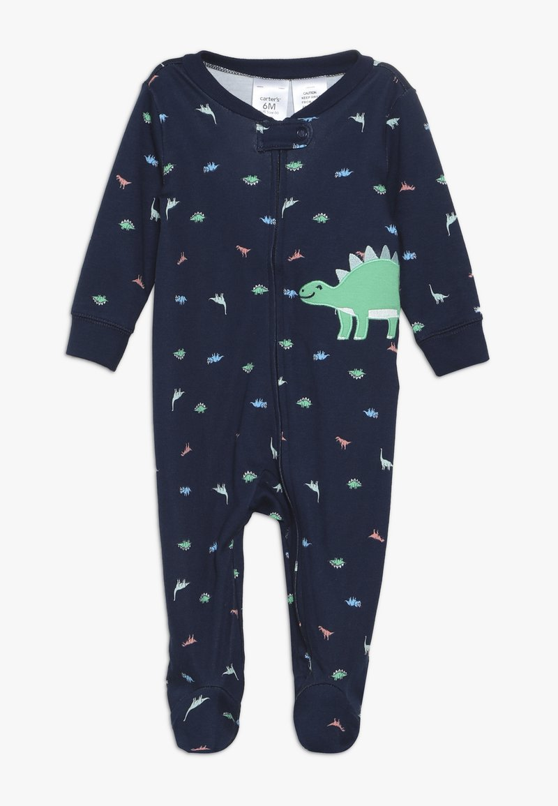 Carter's - BOY INTERLOCK BABY - Pijama - dark blue