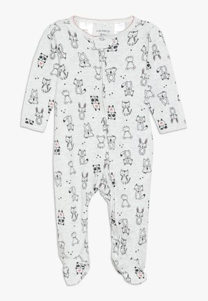 TEXTURED BABY - Pyjamas - heather