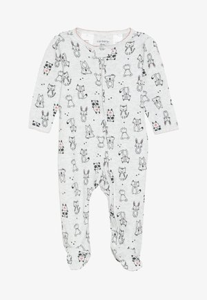TEXTURED BABY - Pyjama - heather