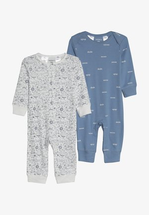 COVERALL BABY 2 PACK - Pyjamas - blue