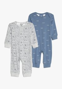 Carter's - COVERALL BABY 2 PACK - Pyjama - blue - 0