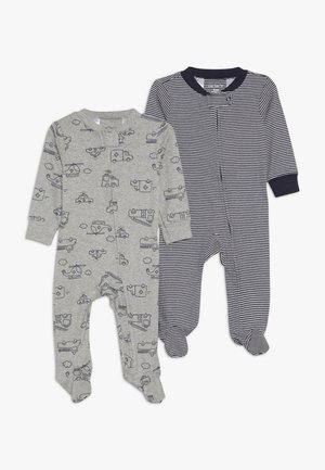 BABY 2 PACK - Pyžamo - grey/blue