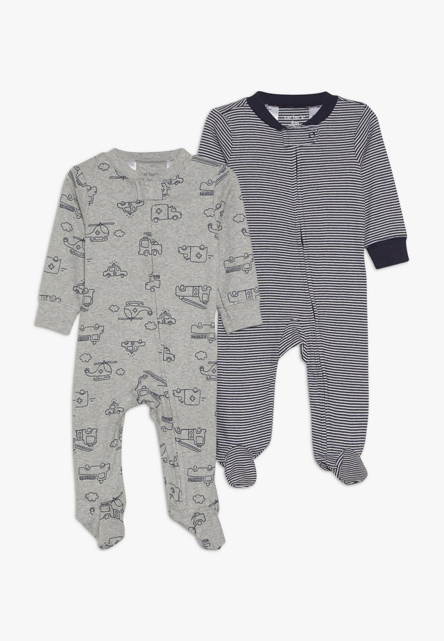 BABY 2 PACK - Pyžamo - grey/blue