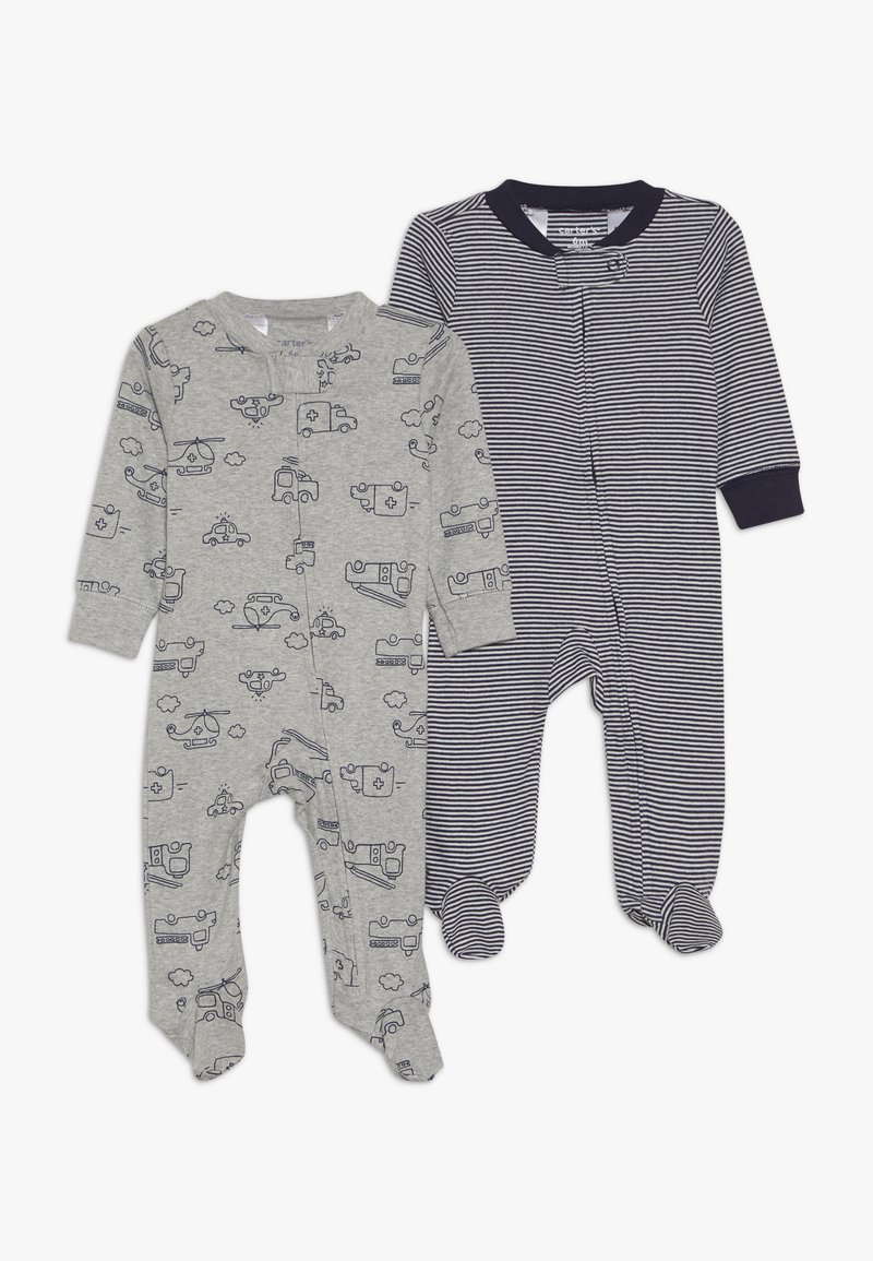 Carter's - BABY 2 PACK - Pyžamo - grey/blue