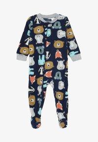 Carter's - ANIMALS BABY - Pyjamas - dark blue - 4