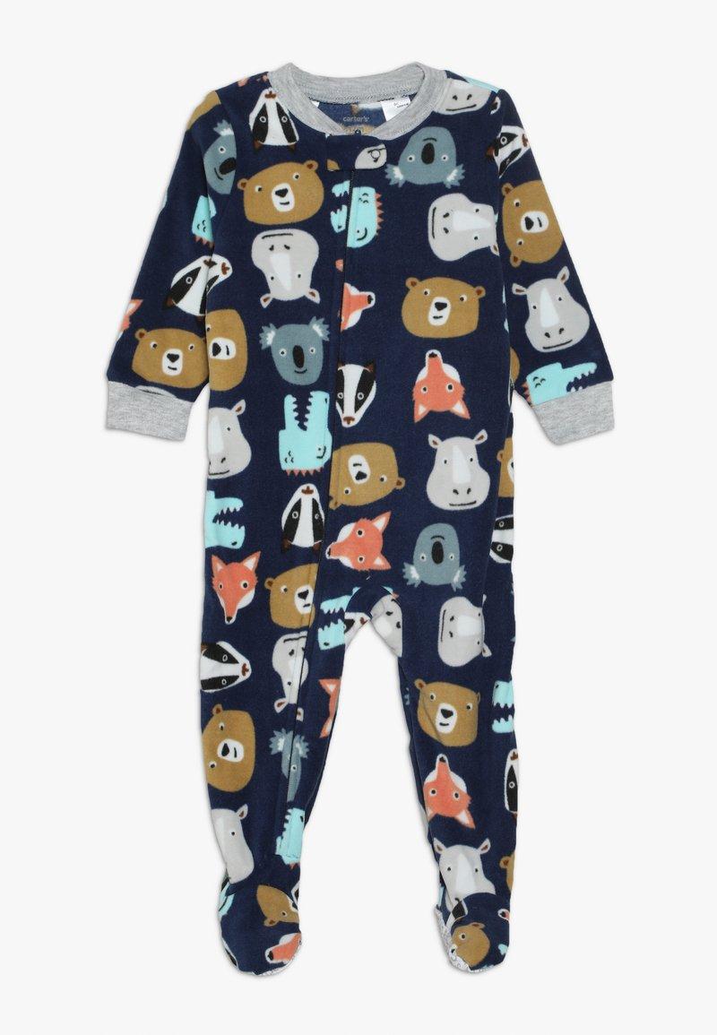 Carter's - ANIMALS BABY - Pyjamas - dark blue