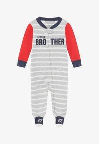 Carter's - INTERLOCK BROTHER BABY - Pyjamas - blue/red - 2