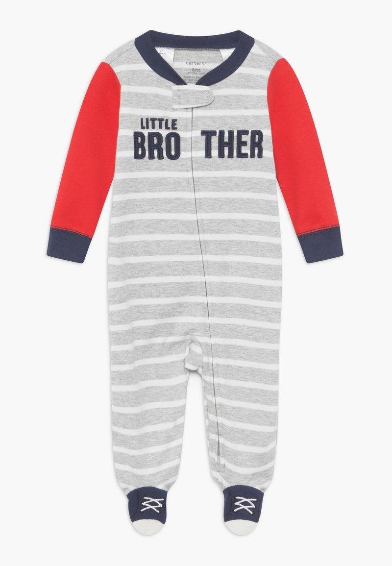 Carter's - INTERLOCK BROTHER BABY - Pyjamas - blue/red