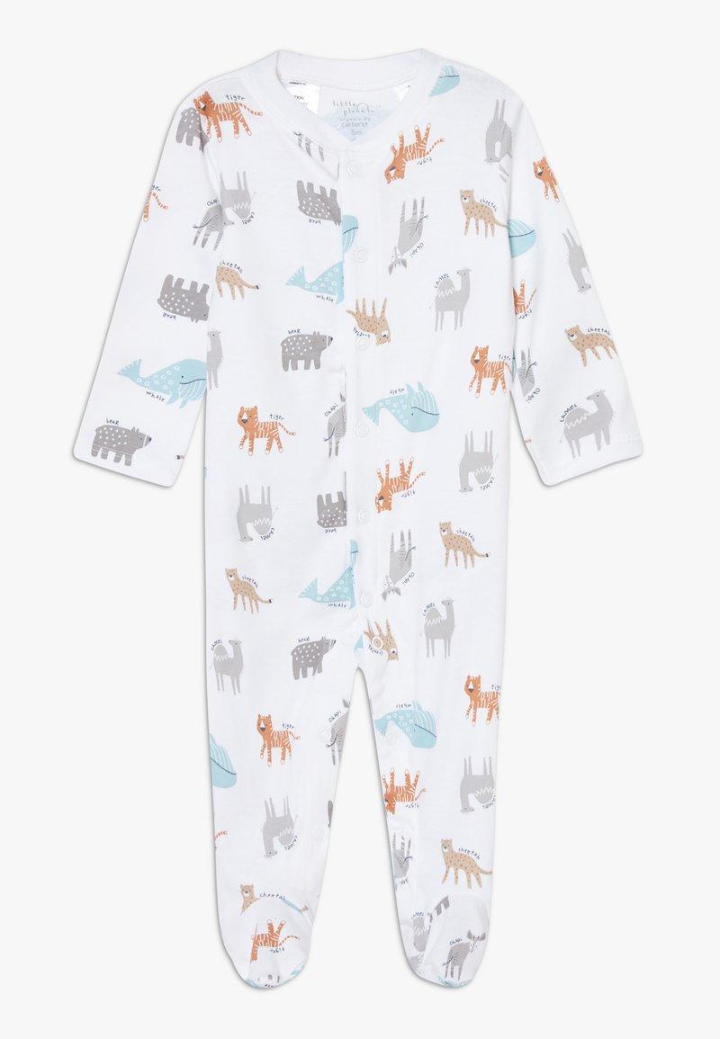 Carter's - BOY ZGREEN BABY - Pyjama - white