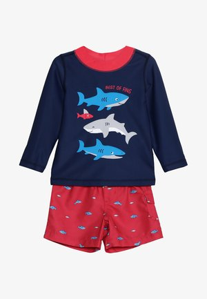 BABY BOY SHARK - Swimsuit - navy