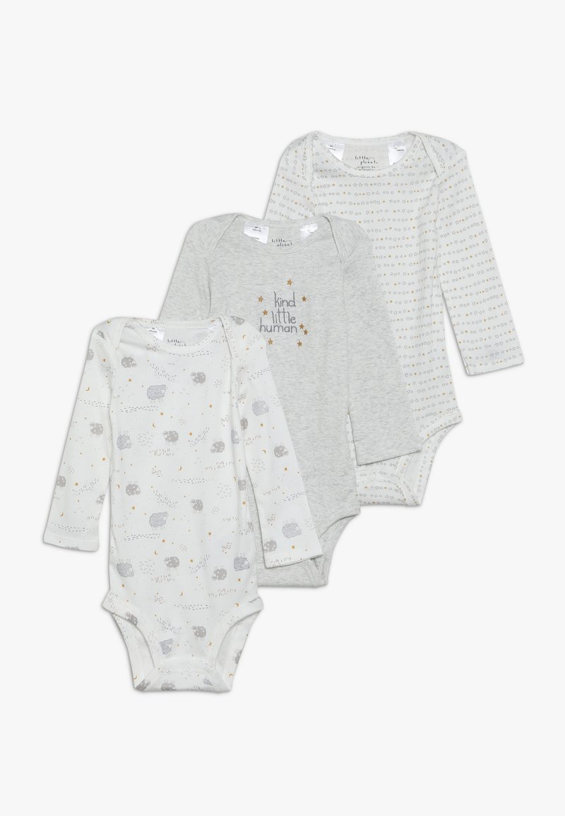 Carter's - HUMAN BABY 3 PACK  - Body - off-white