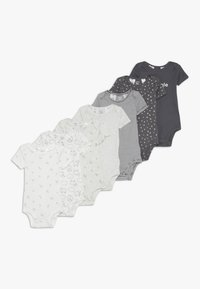 Carter's - BABY 7 PACK  - Body - grey/white - 0