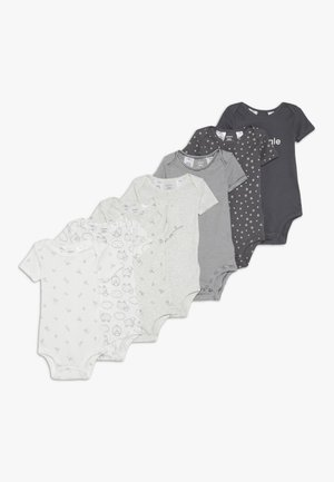 BABY 7 PACK  - Body - grey/white