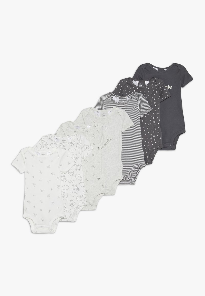 Carter's - BABY 7 PACK  - Body - grey/white