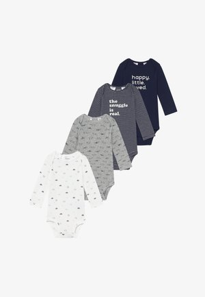BABY 4 PACK - Body - navy