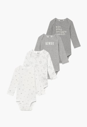 BABY 4 PACK - Body - gray