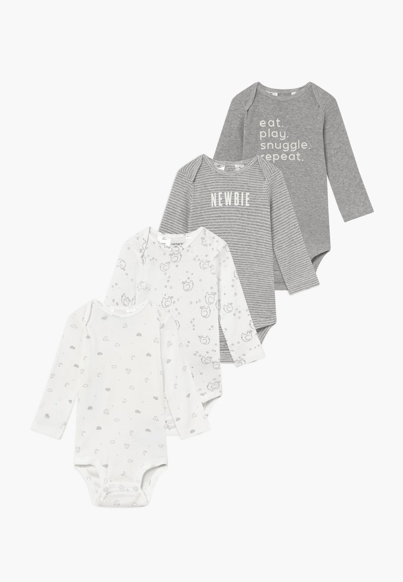 Carter's - BABY 4 PACK - Body - gray