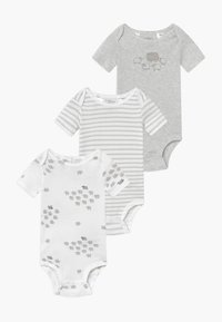 Carter's - NEUTRAL BABY 3 PACK - Body - grey/white - 0