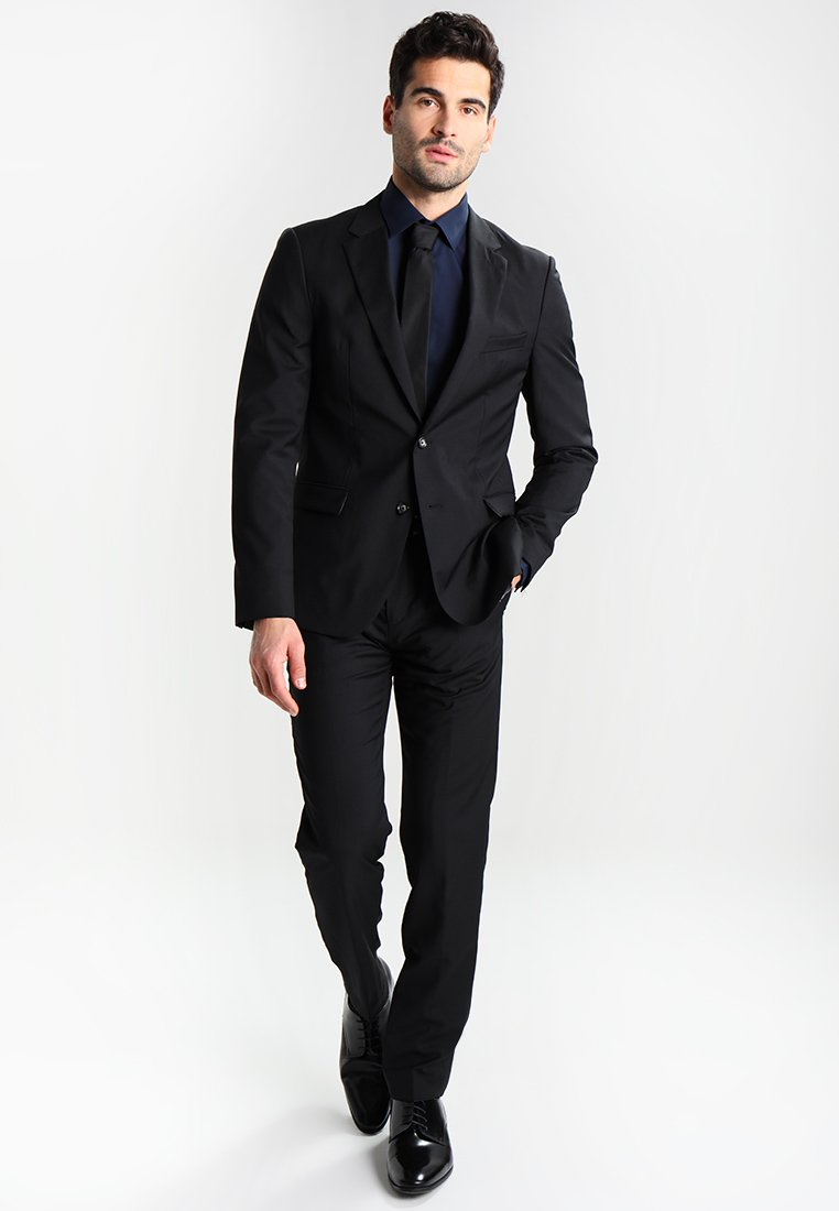 Calvin Klein Tailored Bari Slim Fit - Kostymskjorta Blue