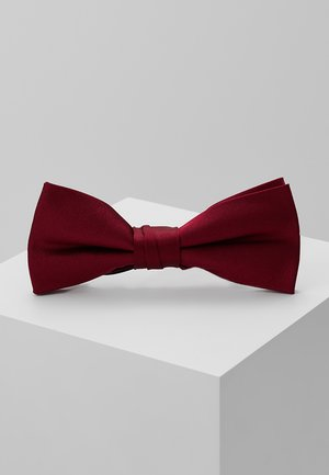 SOLID BOW TIE - Fliege - red