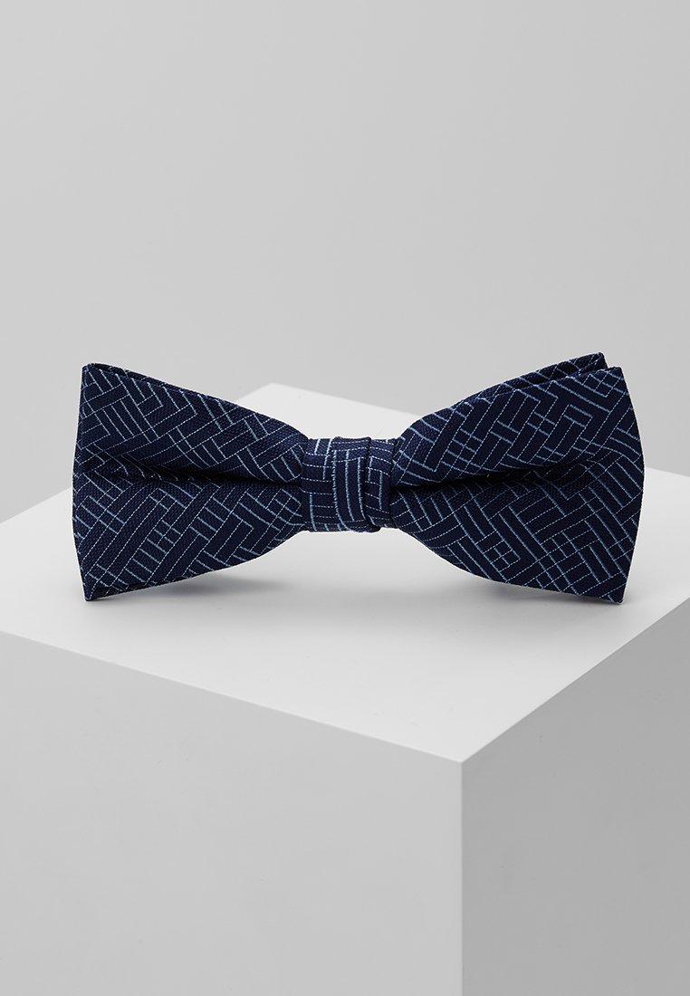 CK Calvin Klein - ALLOVER MAZE BOW TIE - Mucha - blue