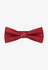 CK Calvin Klein - GRAPH CHECK BOW TIE - Bow tie - red - 1