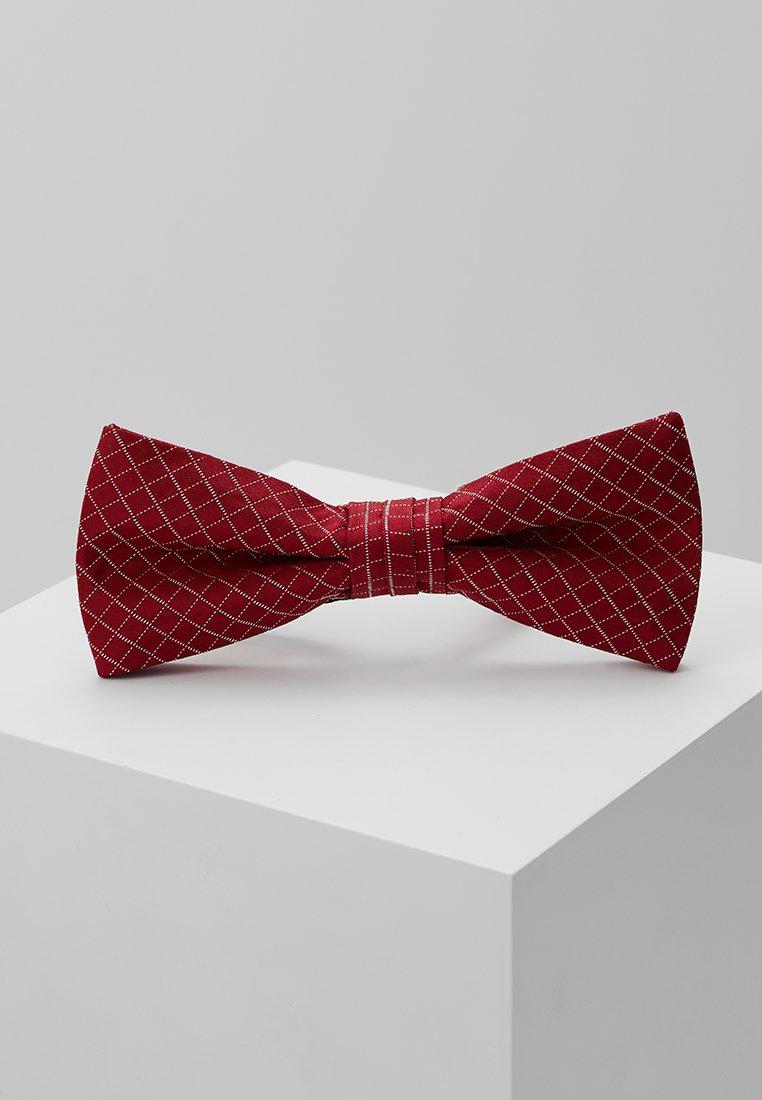 CK Calvin Klein - GRAPH CHECK BOW TIE - Motýlek - red