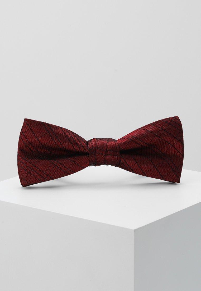 Calvin Klein - SIMPLE WINDOWPANE BOW TIE - Pajarita - red