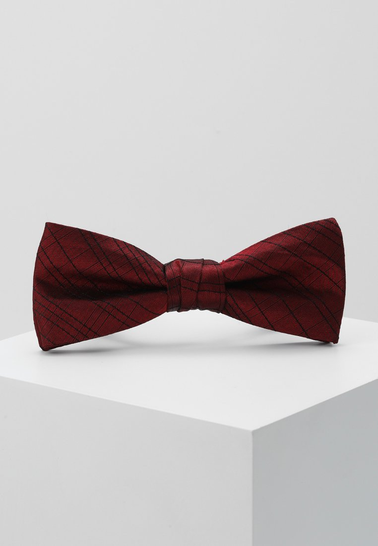 Calvin Klein - SIMPLE WINDOWPANE BOW TIE - Noeud papillon - red
