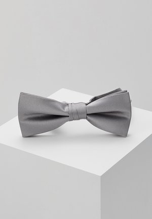 SOLID BOWTIE - Butterfly - charcoal