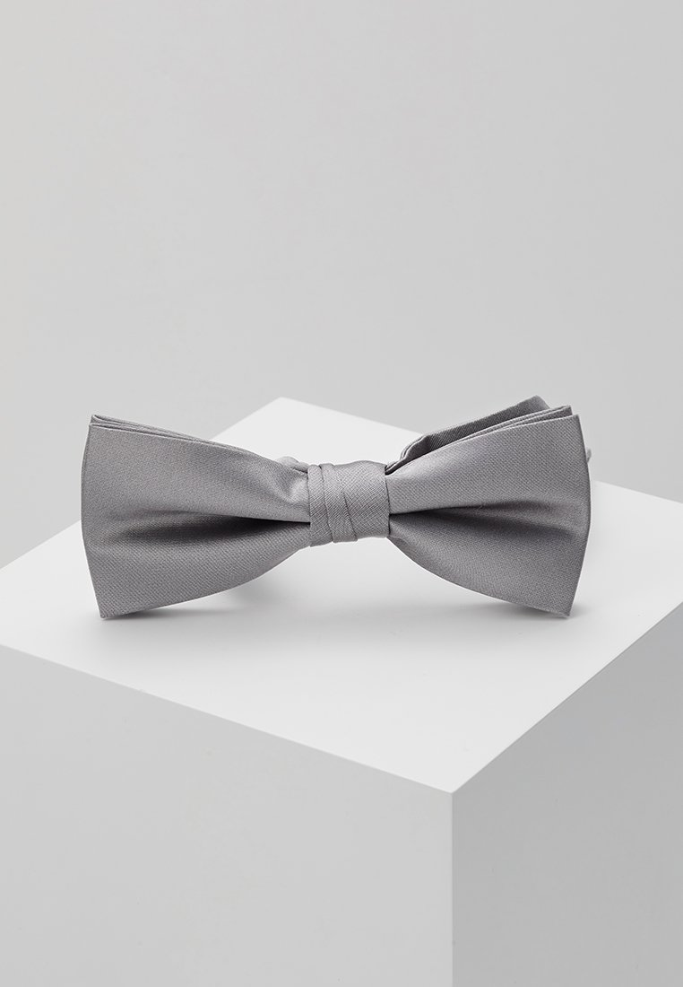 Calvin Klein - SOLID BOWTIE - Bow tie - charcoal