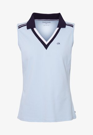 PEDRO SLEEVELESS  - Polo shirt - light blue