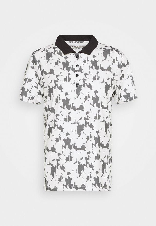 BUREN PRINTED - Poloshirts - white
