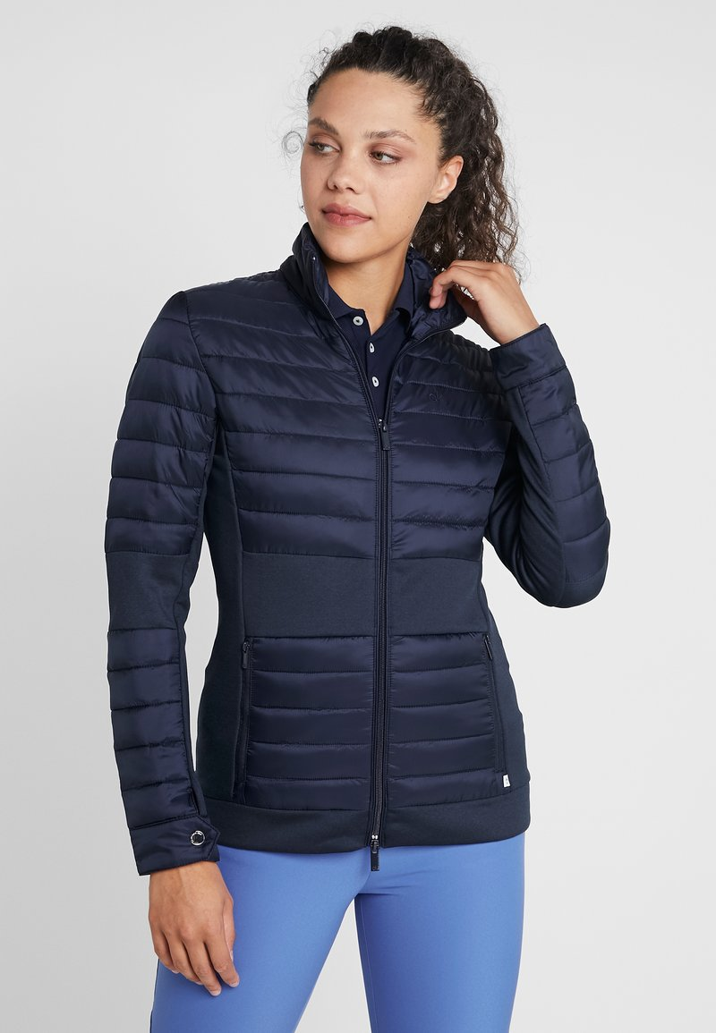 Calvin Klein Golf - HYBRID JACKET - Outdoorjacke - navy