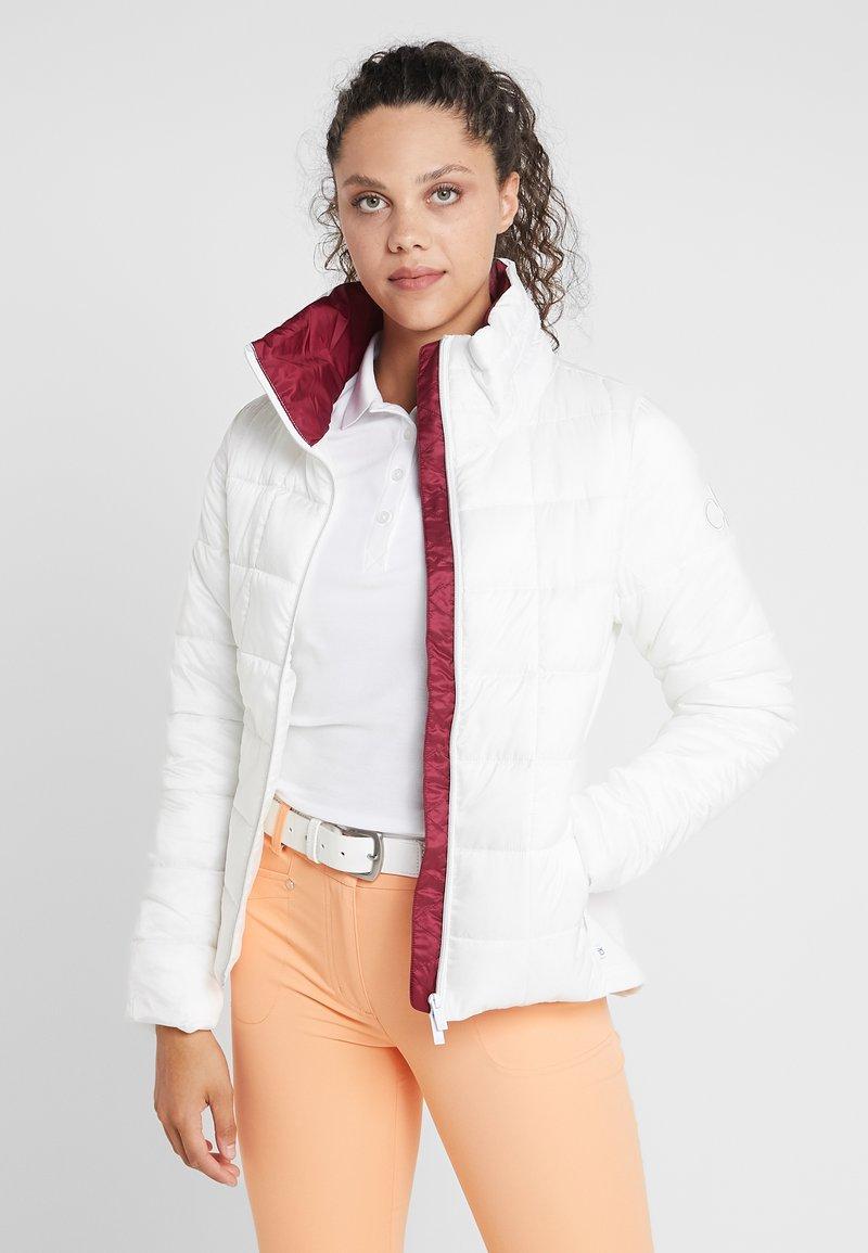 Calvin Klein Golf - JACKET - Outdoorjacke - natural white