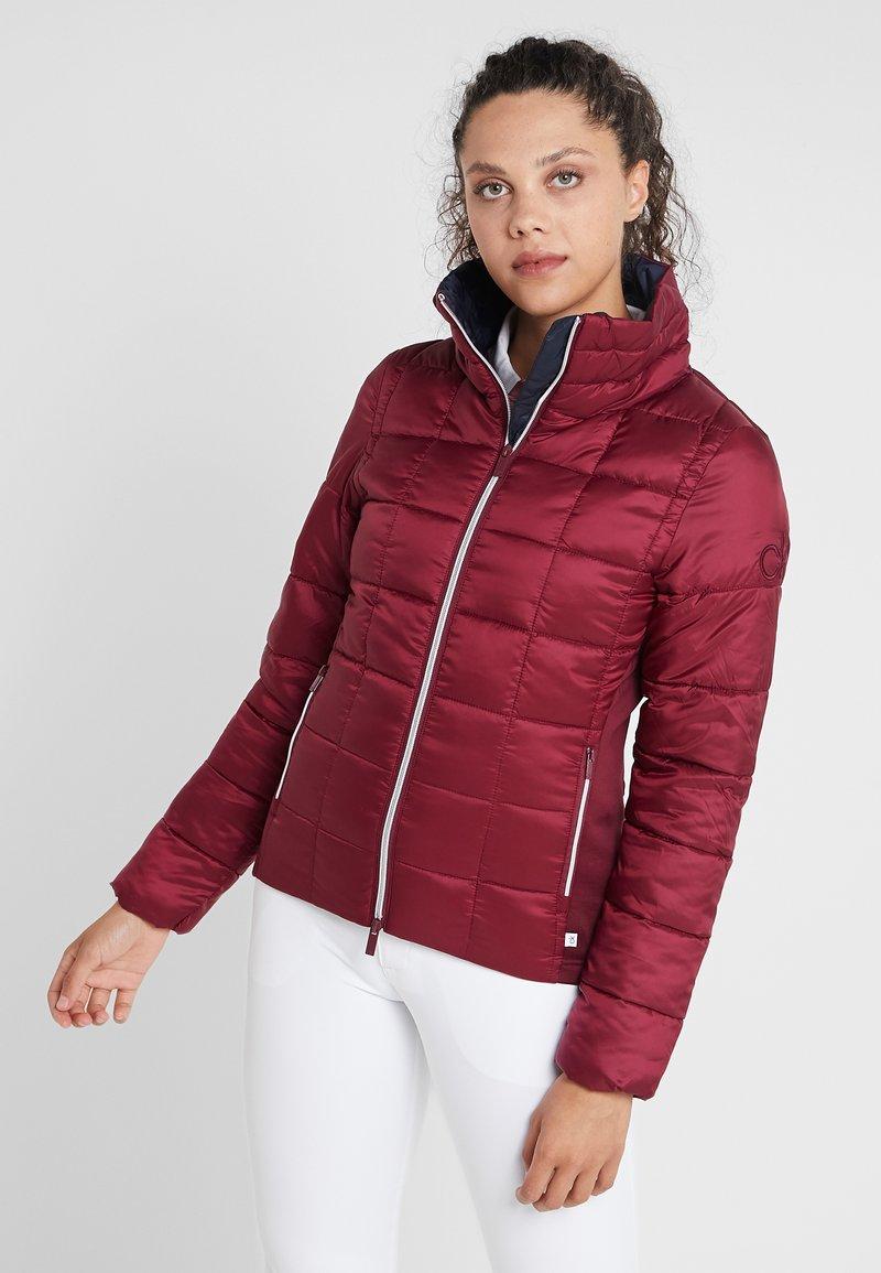 Calvin Klein Golf - JACKET - Outdoor jacket - burgundy