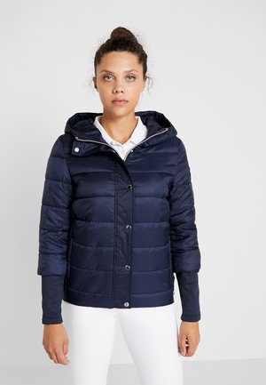 HOODED JACKET - Treningsjakke - navy