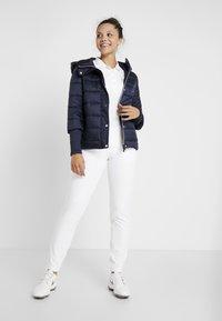 Calvin Klein Golf - HOODED JACKET - Trainingsvest - navy - 1