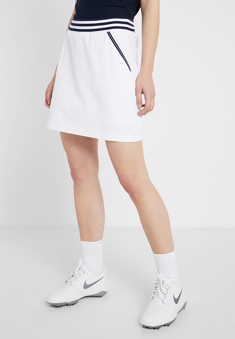 Calvin Klein Golf - MONTANA SKORT - Sportrock - white/brightnavy