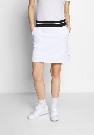 DUNE SKORT - Sportovní sukně - white/black