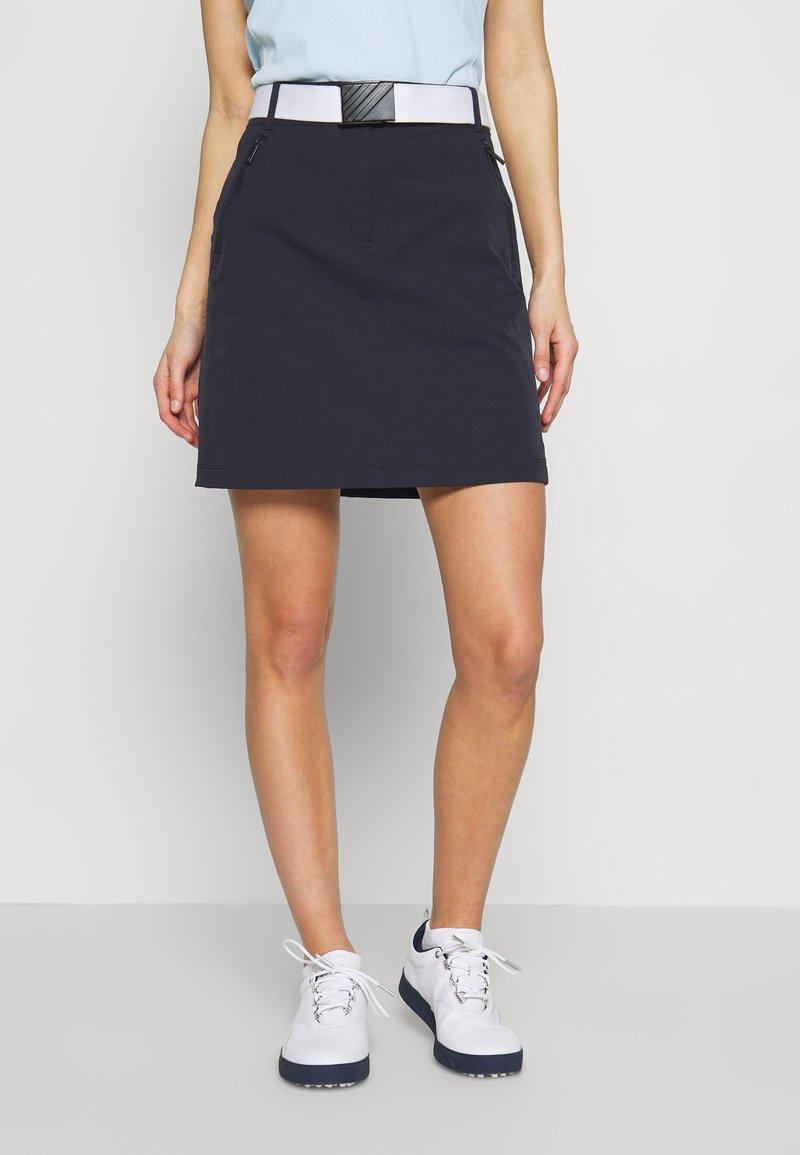 Calvin Klein Golf - GABBRO SKORT - Sportovní sukně - navy