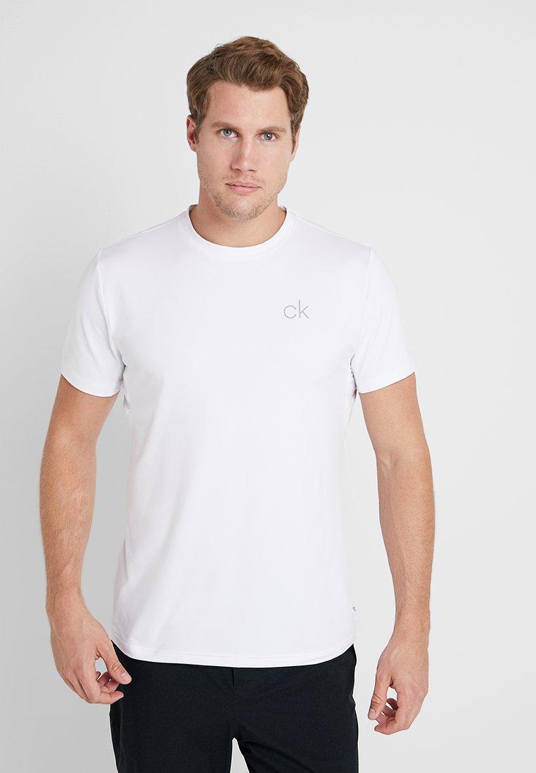 Calvin Klein Golf - NEWPORT TEE - Camiseta básica - white