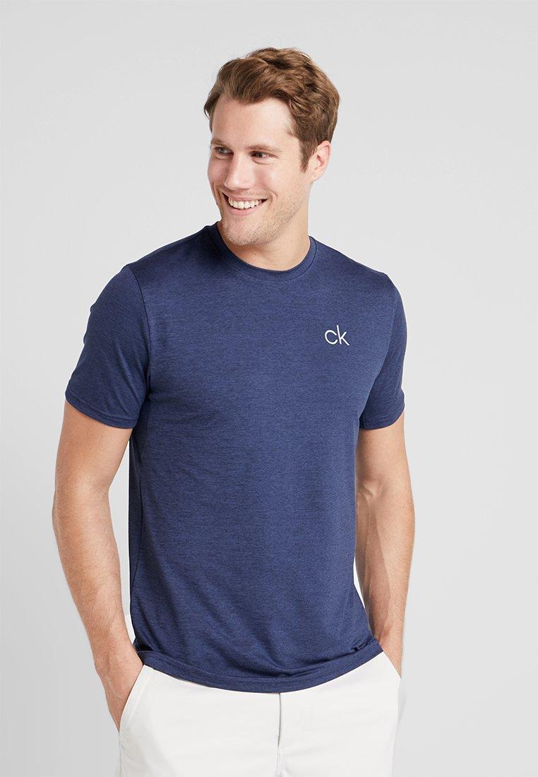 Calvin Klein Golf - NEWPORT TEE - Basic T-shirt - navymarl