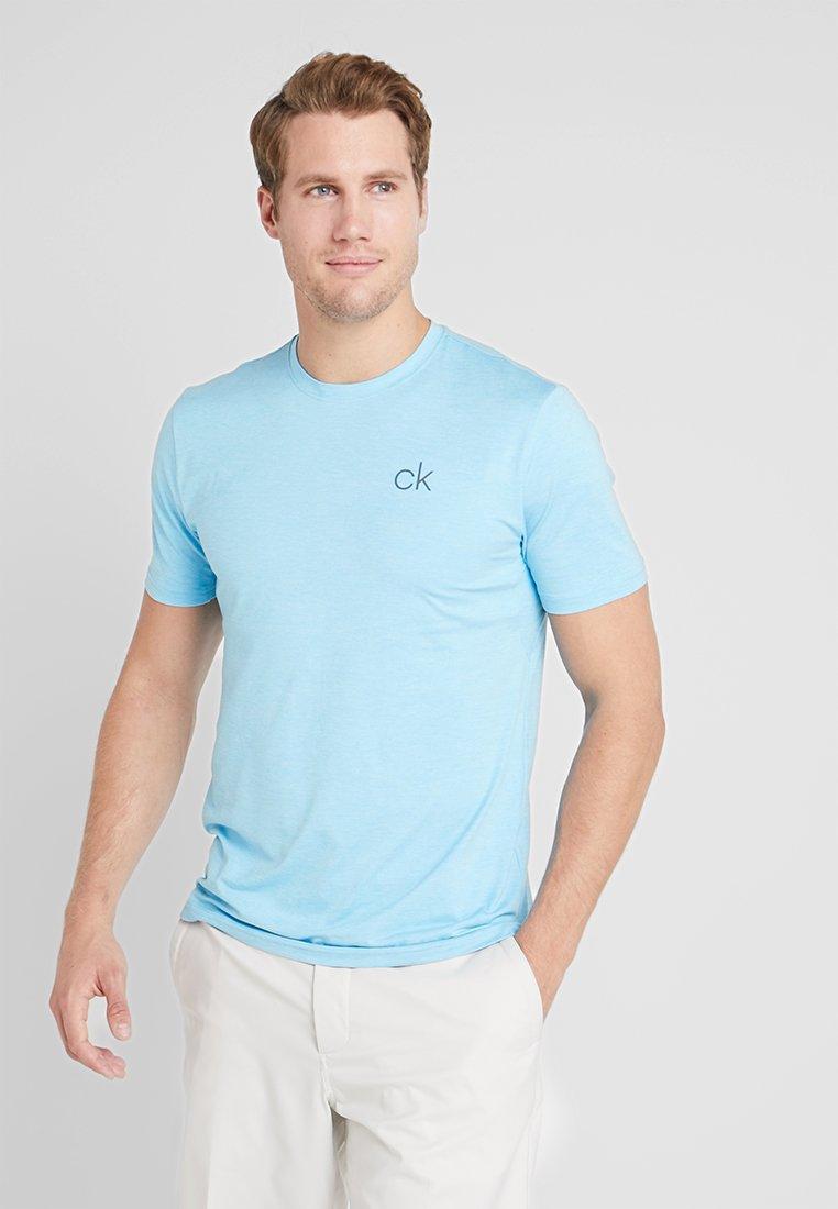 Calvin Klein Golf - NEWPORT TEE - T-shirts basic - skybluemarl